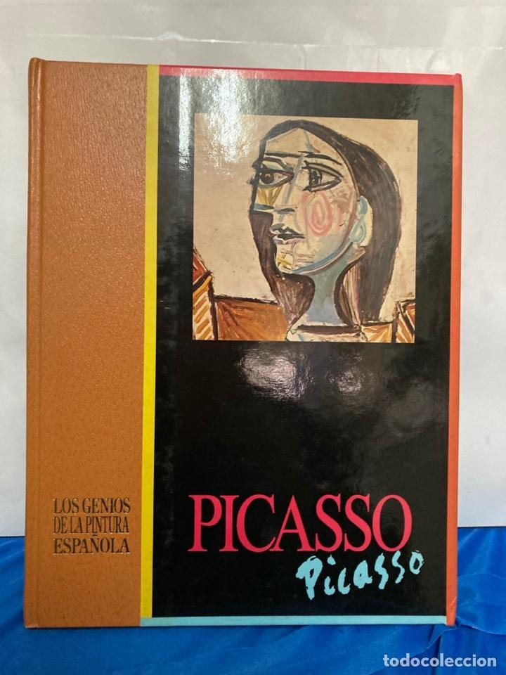 LIBRO DE PICASSO, TAPA DURA DE 30 X 23,50 CM DEL AÑO 1988, (Libros Nuevos - Bellas Artes, ocio y coleccionismo - Pintura)