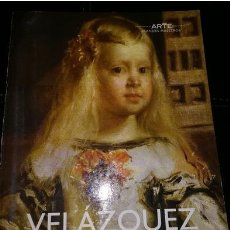 Libros: 2 MINILIBROS DE ARTE: VELAZQUEZ POR FERNANDO MARÍAS Y GOYA. Lote 266206753