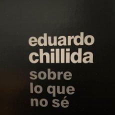 Libri: EDUARDO CHILLIDA. Lote 266774324