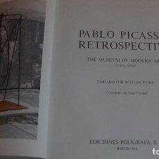 Libros: PABLO PICASSO. RETROSPECTIVA. EDICIONES POLIGRAFA. 1980. Lote 267065469