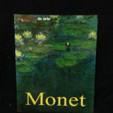 Libros: MONET ,VIDA Y OBRAS DEL ARTISTA ,. Lote 269832923