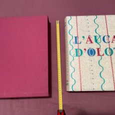 Libros: L'AUCA D'OLOT RODOLINS DE ALEXANDRE CUELLAR LITOGRAFÍAS FIRMADAS DE PINTORES DE LA GARROTXA IMPOLUTO. Lote 275470408