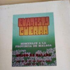Libros: HOMENAJE A LA PROVINCIA DE MÁLAGA. Lote 280855938