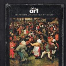 Libros: BRUEGHEL EL VIEJO Y EL HUMOR MONOGRÁFICO ED EL PAÍS 2020 1ª ED THIS IS ART LIBRO + DVD PLASTIFICADO. Lote 284159513