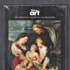 Libros: RUBENS Y LA EMPATÍA MONOGRÁFICO EDITADO EL PAÍS 2020 COLECCIÓN THIS IS ART LIBRO + DVD PLASTIFICADO. Lote 284365608