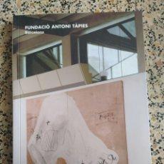Libros: FUNDACIÓN TAPIES. Lote 288155268