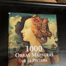Libros: MIL OBRAS DE ARTE DE LA PINTURA. Lote 288208193