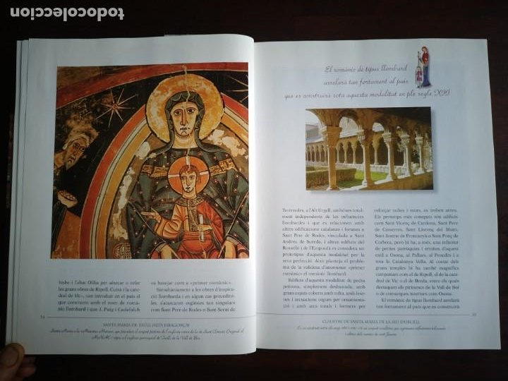 Libros: El llibre d´or de l´art Catalá Recopilacion en laminas/cromos obras historia del arte en Cataluña - Foto 6 - 288977838