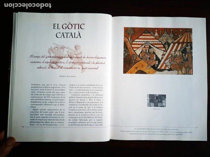 Libros: El llibre d´or de l´art Catalá Recopilacion en laminas/cromos obras historia del arte en Cataluña - Foto 7 - 288977838