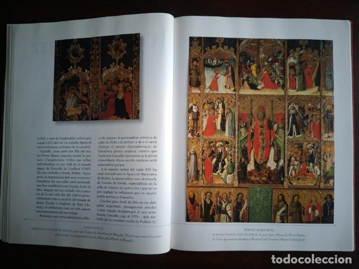 Libros: El llibre d´or de l´art Catalá Recopilacion en laminas/cromos obras historia del arte en Cataluña - Foto 8 - 288977838