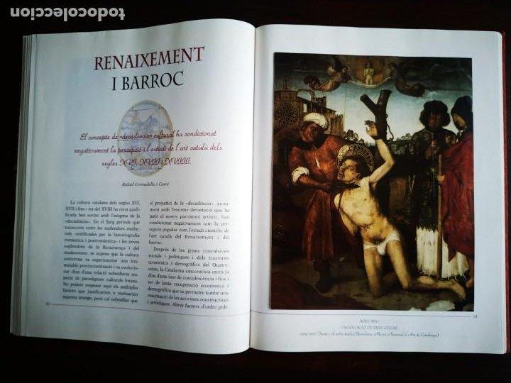 Libros: El llibre d´or de l´art Catalá Recopilacion en laminas/cromos obras historia del arte en Cataluña - Foto 9 - 288977838