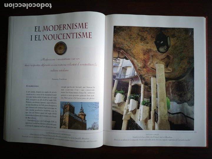 Libros: El llibre d´or de l´art Catalá Recopilacion en laminas/cromos obras historia del arte en Cataluña - Foto 14 - 288977838