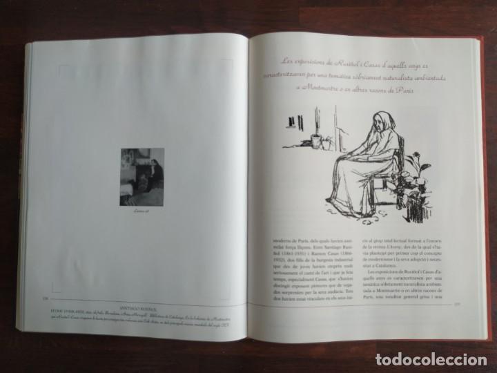 Libros: El llibre d´or de l´art Catalá Recopilacion en laminas/cromos obras historia del arte en Cataluña - Foto 15 - 288977838