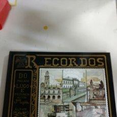Libros: ALBUM RECORDOS DO PASADO.LUGO E PROVINCIA .AUTOR JOSE MARÍA LUGILDE PEÑA .. Lote 293723883