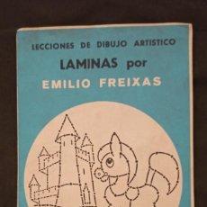 Libros: LÁMINAS DE LECCIONES DE DIBUJO ARTÍSTICO. SERIE AZUL, Nº A1 DE EMILIO FREIXAS. Lote 293835523