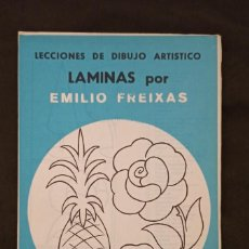 Libros: LÁMINAS DE LECCIONES DE DIBUJO ARTÍSTICO. SERIE AZUL, Nº A2 DE EMILIO FREIXAS. Lote 293835738