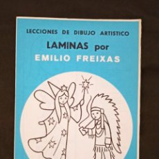 Libros: LÁMINAS DE LECCIONES DE DIBUJO ARTÍSTICO. SERIE AZUL, Nº A4 DE EMILIO FREIXAS. Lote 293835998