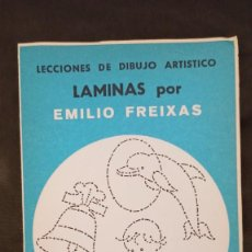 Libros: LÁMINAS DE LECCIONES DE DIBUJO ARTÍSTICO. SERIE AZUL, Nº A5 DE EMILIO FREIXAS. Lote 293836308