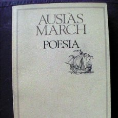 Libros: POESIA DE AUSIAS MARCH. Lote 27097331