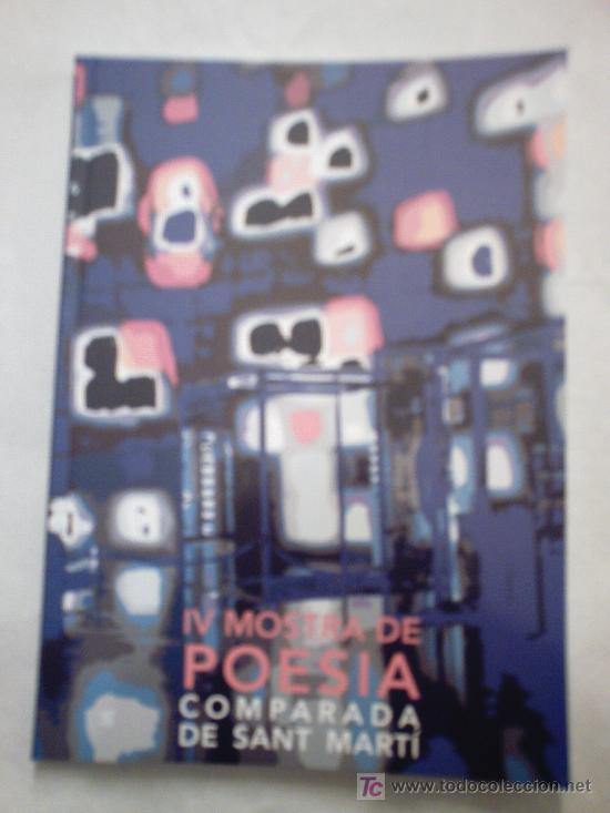IV MOSTRA DE POESIA COMPARADA DE SANT MARTÍ (Libros Nuevos - Literatura - Poesía)