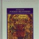 Libros: ANTIGUOS POEMAS IRLANDESES. CLÁSICOS MEDIEVALES , 22.. Lote 26947070