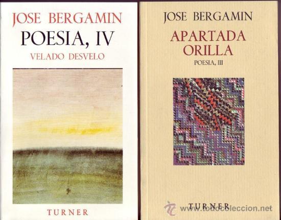 POESIA DE JOSE BERGAMIN. JOSÉ BERGAMIN. 7 VOLS. (Libros Nuevos - Literatura - Poesía)