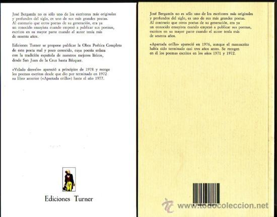 Libros: POESIA DE JOSE BERGAMIN. José Bergamin. 7 vols. - Foto 3 - 25669655