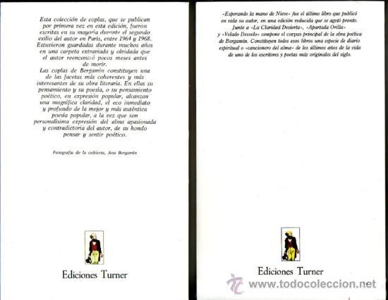 Libros: POESIA DE JOSE BERGAMIN. José Bergamin. 7 vols. - Foto 4 - 25669655