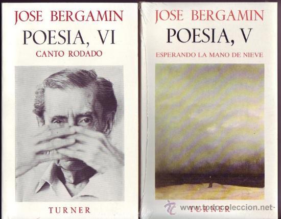 Libros: POESIA DE JOSE BERGAMIN. José Bergamin. 7 vols. - Foto 5 - 25669655