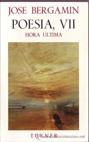 Libros: POESIA DE JOSE BERGAMIN. José Bergamin. 7 vols. - Foto 6 - 25669655