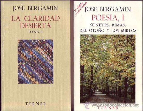 Libros: POESIA DE JOSE BERGAMIN. José Bergamin. 7 vols. - Foto 7 - 25669655