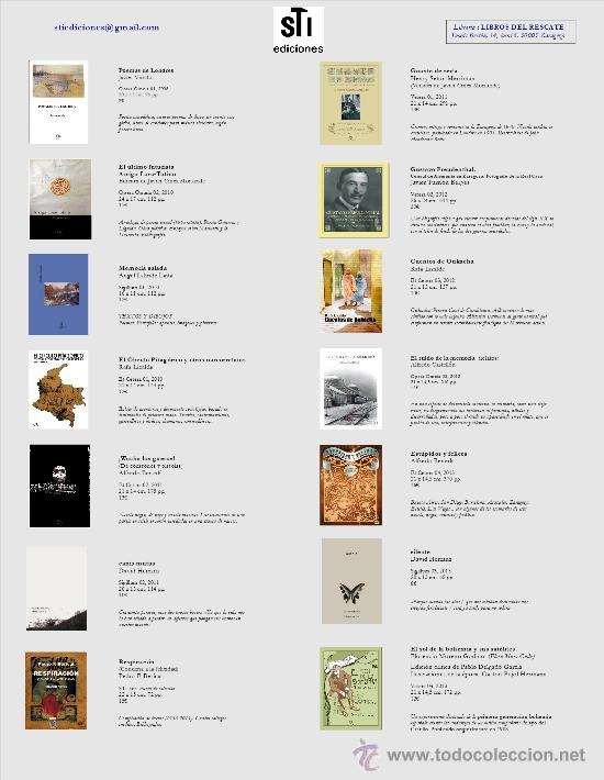 Libros: David HERRANZ : CANIS MUTUS, (STI ediciones, 2011) - Foto 3 - 32726601