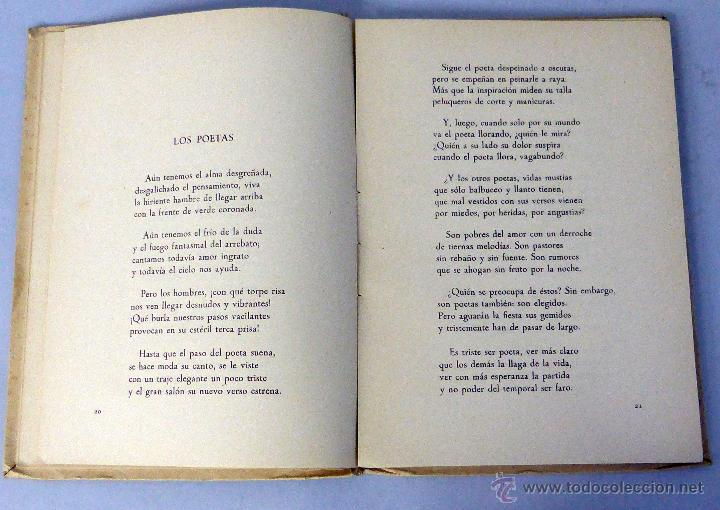 Libros: Ver y cantar Colección poesía José Javier Aleixandre Editora Nacional 1953 Ilustra José Caballero - Foto 3 - 47950777