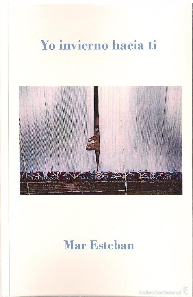 MAR ESTEBAN : YO INVIERNO HACIA TI (STI EDICIONES, COLECCIÓN DASEIN, 2016) (Libros Nuevos - Literatura - Poesía)