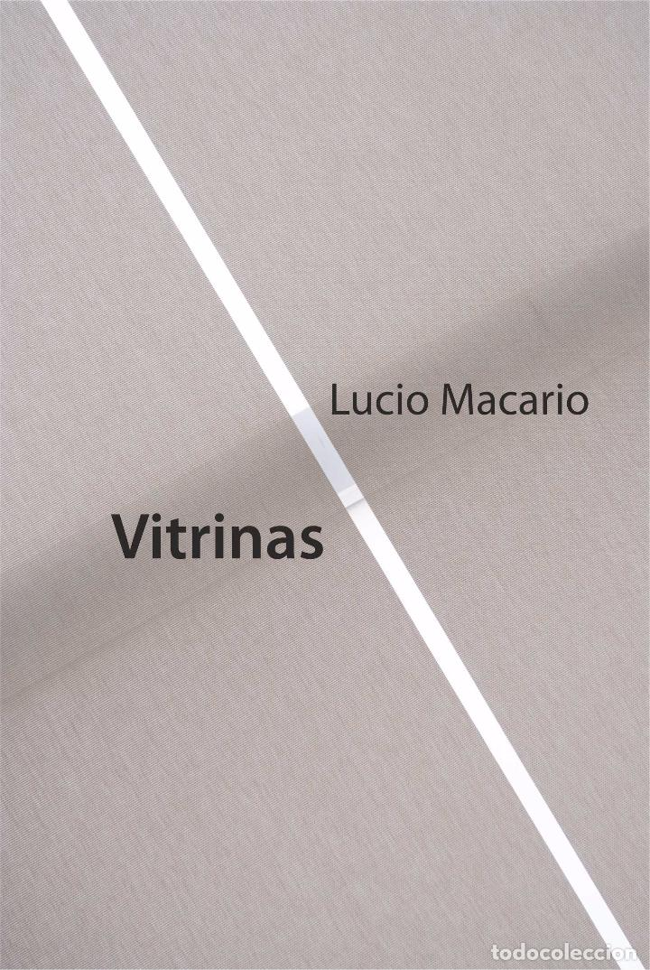 LUCIO MACARIO (LUIS MOLINER LORENTE) : VITRINAS. STI EDICIONES / CONVENZIONE DEI MINIMI, 2016 (Libros Nuevos - Literatura - Poesía)