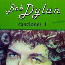 Libros: CANCIONES I EDITORIAL FUNDAMENTOS. Lote 70899231