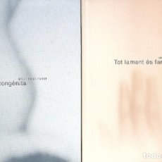 Libros: TOT LAMENT ÉS FANG I MATÈRIA CONGÈNITA - MAITE MUNS CABOT . Lote 85763848
