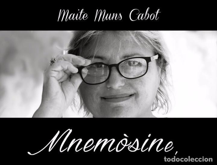 MNEMÒSINE - MAITE MUNS CABOT (Libros Nuevos - Literatura - Poesía)
