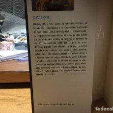 Libros: L'AVINGUDA I EL LABERINT. DAVID JOU.. Lote 153307762
