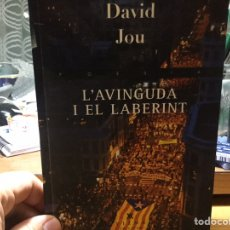 Libros: DAVID JOU. L'AVINGUDA I EL LABERINT.. Lote 146564030