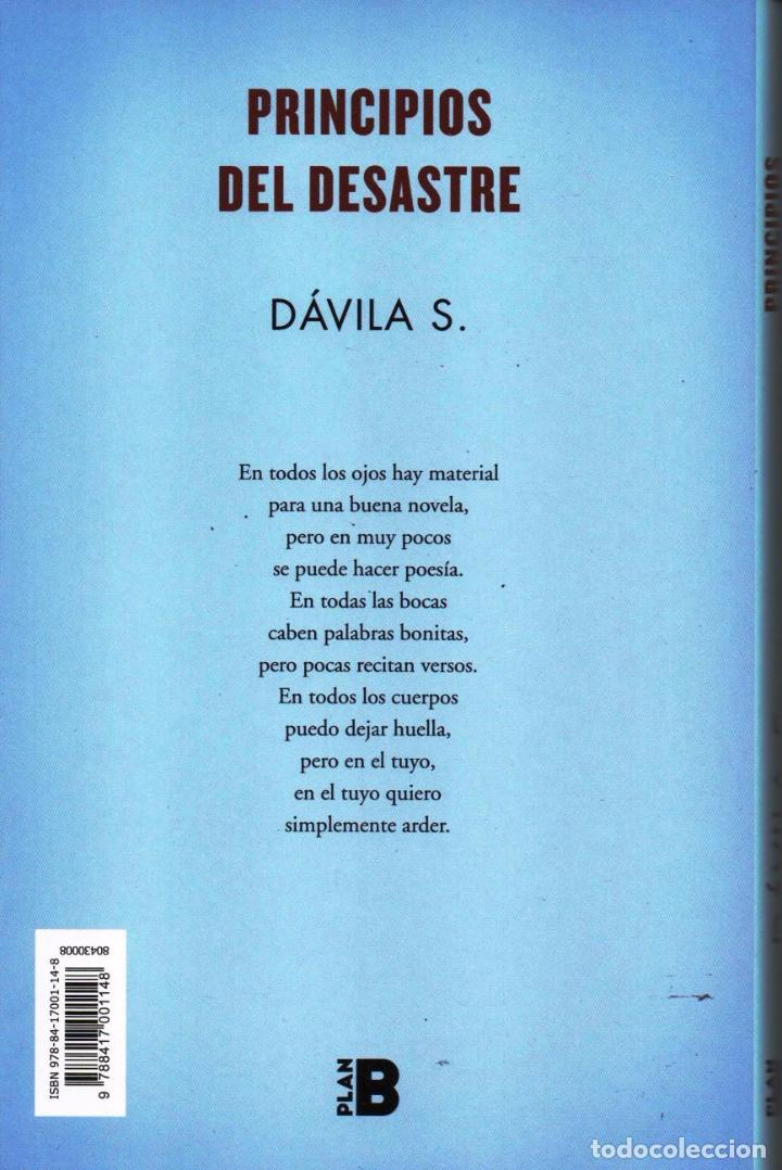Libros: PRINCIPIOS DEL DESASTRE de DAVILA S. - EDICIONES B, 2017 - Foto 2 - 100422943