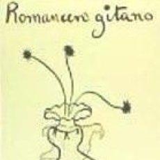 Libros: ROMANCERO GITANO EDITORIAL COMARES. Lote 103585423