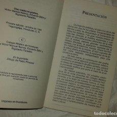 Libros: DIEZ POETAS MÉDICOS - HONDURAS 1991. Lote 220227496