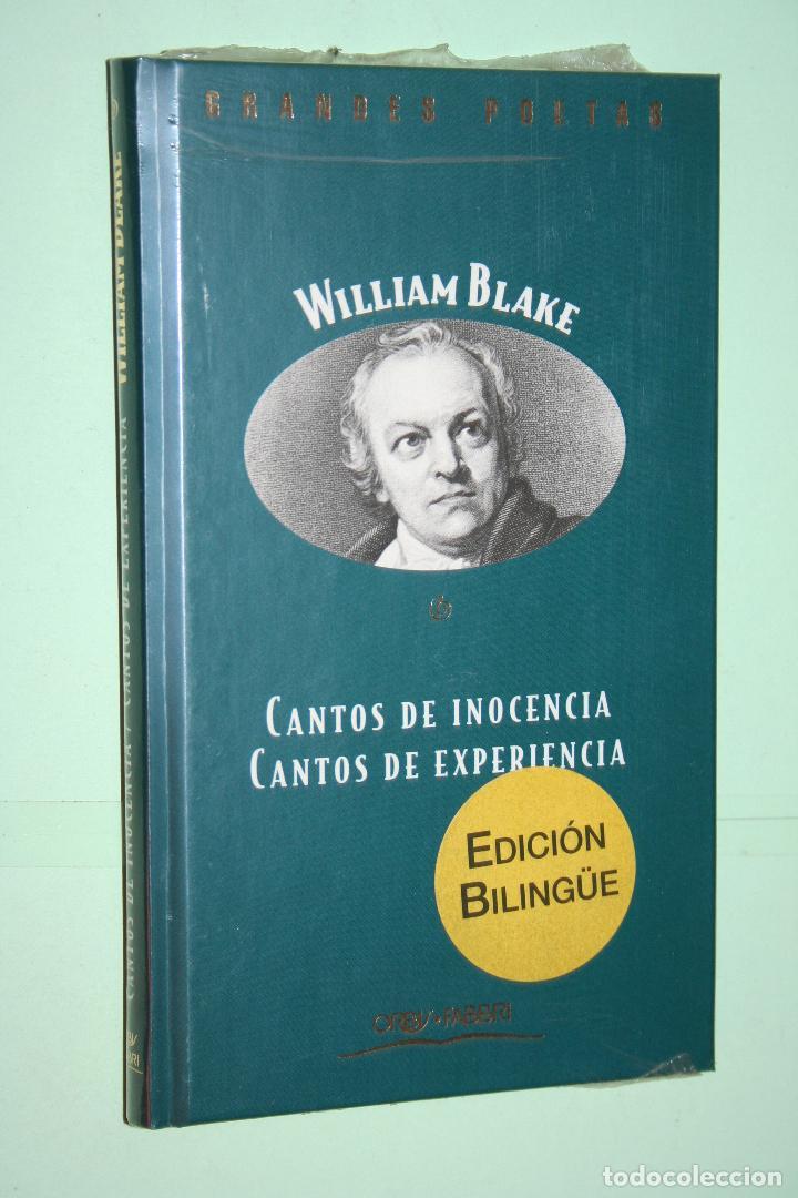WILLIAM BLAKE *** LIBRO DE POESÍA *** COLECCION GRANDES POETAS (ORBIS - FABBRI) *** PRECINTADO (Libros Nuevos - Literatura - Poesía)