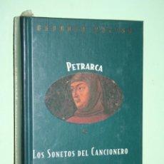 Libros: FRANZESCO PETRARCA *** LIBRO DE POESÍA *** COLECCION GRANDES POETAS (ORBIS - FABBRI) *** PRECINTADO. Lote 119251787