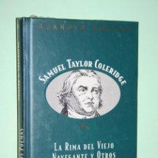 Libros: SAMUEL TAYLOR C. *** LIBRO DE POESÍA *** COLECCION GRANDES POETAS (ORBIS - FABBRI) *** PRECINTADO. Lote 119251851