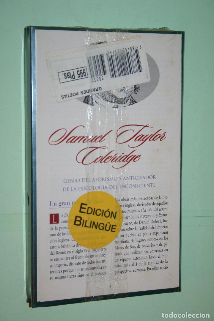 Libros: SAMUEL TAYLOR C. *** LIBRO DE POESÍA *** COLECCION GRANDES POETAS (ORBIS - FABBRI) *** PRECINTADO - Foto 2 - 119251851