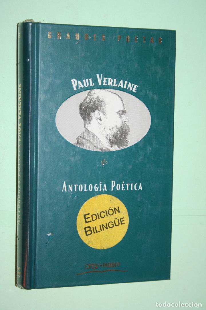 PAUL VERLAINE *** LIBRO DE POESÍA *** COLECCION GRANDES POETAS (ORBIS - FABBRI) *** PRECINTADO (Libros Nuevos - Literatura - Poesía)