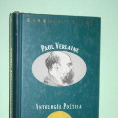 Libros: PAUL VERLAINE *** LIBRO DE POESÍA *** COLECCION GRANDES POETAS (ORBIS - FABBRI) *** PRECINTADO. Lote 119253363