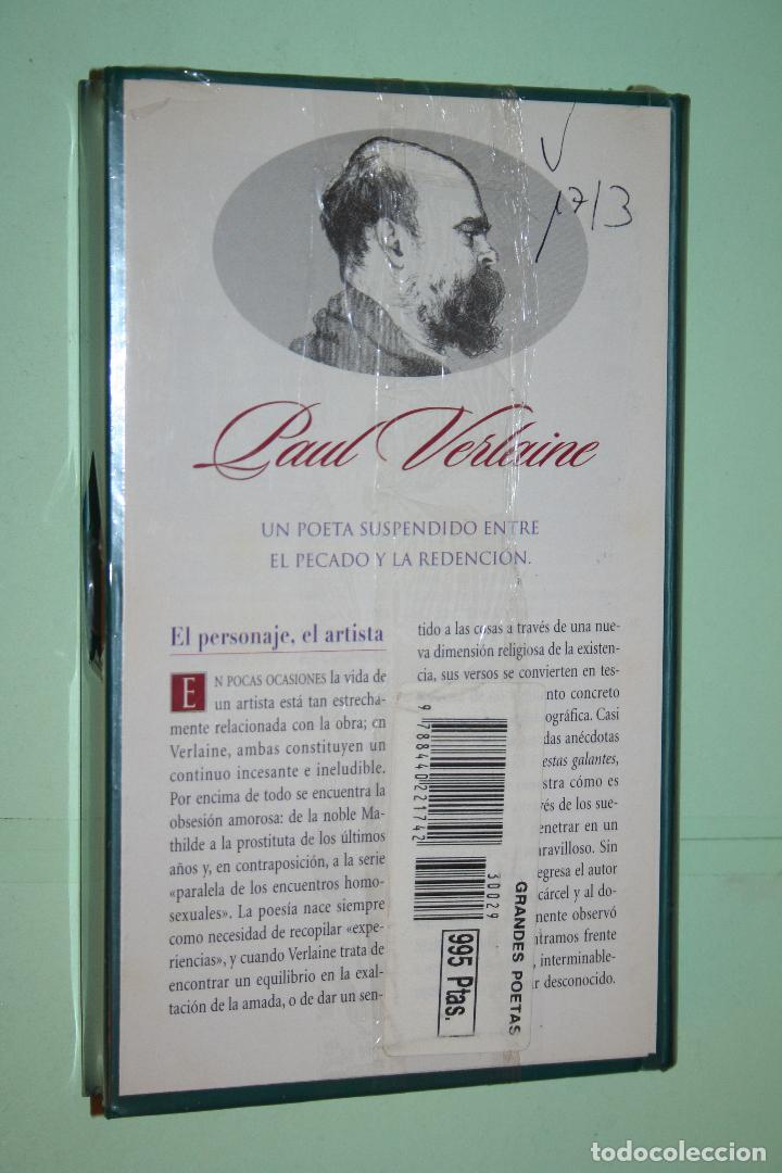 Libros: PAUL VERLAINE *** LIBRO DE POESÍA *** COLECCION GRANDES POETAS (ORBIS - FABBRI) *** PRECINTADO - Foto 2 - 119253363